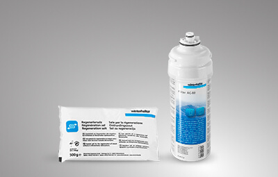 Winterhalter consumables for water treatment