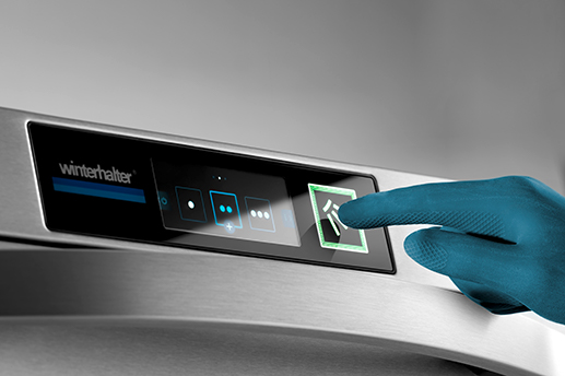 Winterhalter touch display for self-explanatory operation