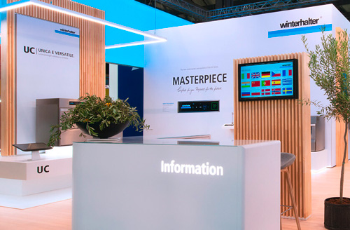 Winterhalter at HOST exhibition 2019