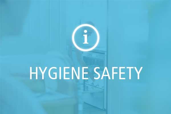 Hygiene safety with Winterhalter dishwashers