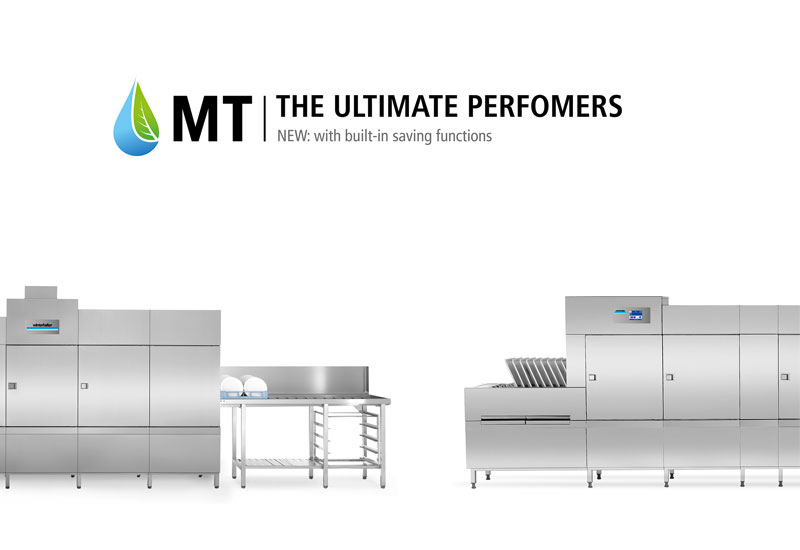 Winterhalter MT Series with built-in saving functions
