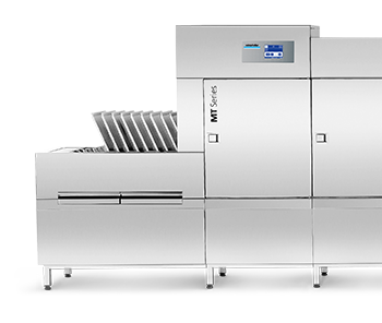 Winterhalter conveyor dishwashers for caterers