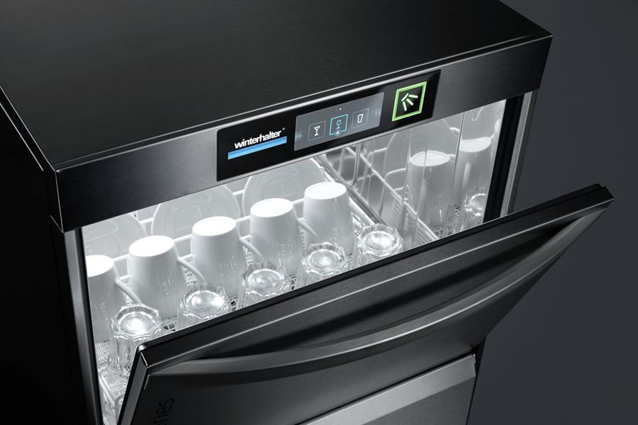 Winterhalter undercounter warewasher for mixed wash items