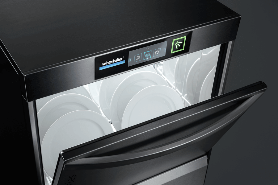 Winterhalter undercounter warewasher for dishes
