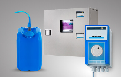 Winterhalter dosing for chemicals