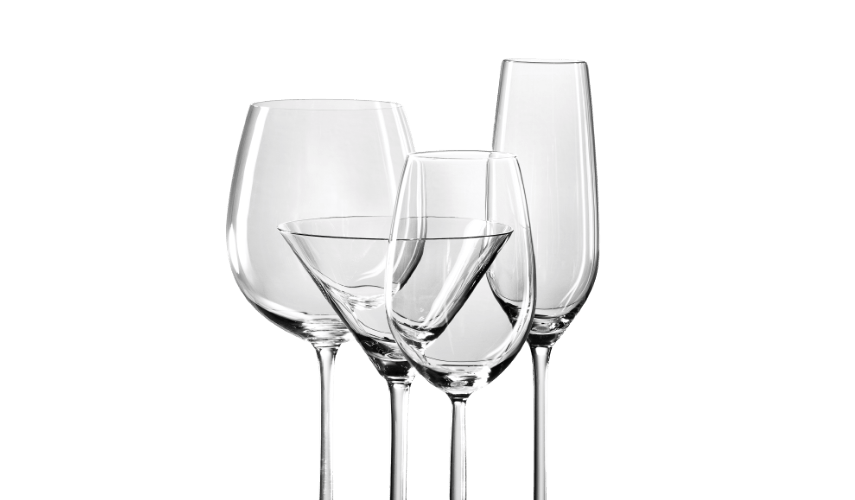 Winterhalter water treatment for glasses that don't need polishing