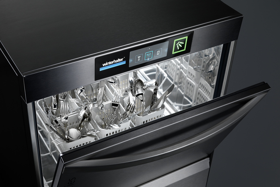 Winterhalter undercounter warewasher for cutlery