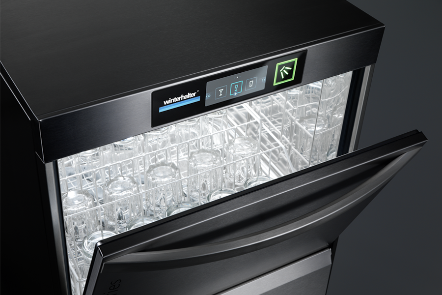 Winterhalter undercounter warewasher for glasses